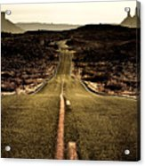 The Long Road Acrylic Print