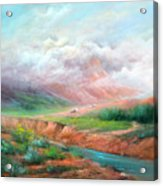 The Long Trail Acrylic Print