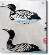 The Loons Acrylic Print