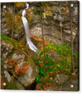 The Lost Valley Acrylic Print by Ryan Heffron
