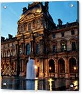 The Louvre Palace Acrylic Print