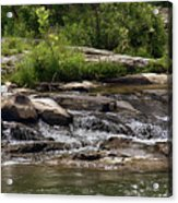 The Lower Yough River Acrylic Print
