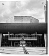 The Lowry Art And Entertainment Complex Salford Quays Manchester Uk Acrylic Print