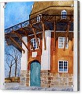 The Lumby Mill Acrylic Print