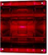 The Machine Red Acrylic Print