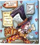 The Mad Hatter - In Court Acrylic Print