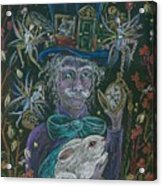 The Maddening Hatter Acrylic Print