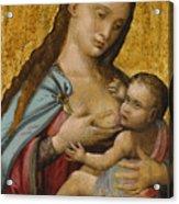 The Madonna And Child Acrylic Print