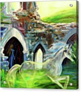 The Magic And Majesty Of Corfe Castle Acrylic Print