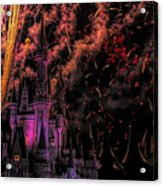 The Magic Of Disney Acrylic Print