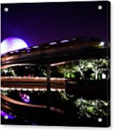 The Magic Of Epcot Acrylic Print