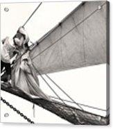 The Magic Of Sail Acrylic Print