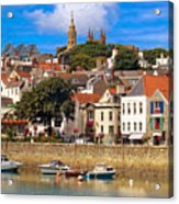 The Magic Of St. Peter Port In Guernsey Acrylic Print