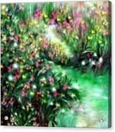 The Magical Garden Acrylic Print