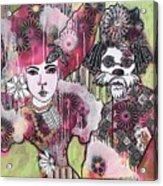 the Magicians Assistant Acrylic Print