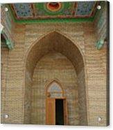 the main entrance, doorway, door, Asia Acrylic Print