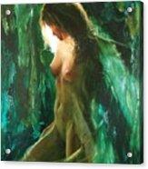 The malachite light Acrylic Print