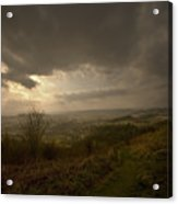 The Malvern Hills Acrylic Print