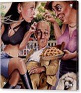 The Man And His Sweethearts Acrylic Print