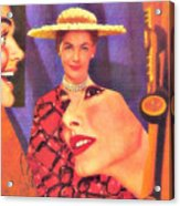 The Man In Her Life Paid More Attention To Ruby Hatfield After She Bought That New Dress Acrylic Print