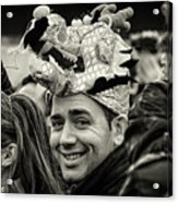 The Man In The Dragon Hat Acrylic Print