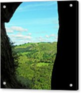 The Manifold Valley From Thor's Cave Acrylic Print