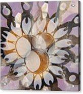 The Many Goddess Mandala Acrylic Print