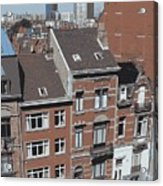 The Many Layers Of Brussels Acrylic Print