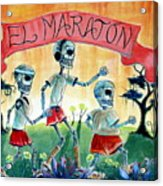 The Marathon Acrylic Print
