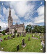The Marble Church Acrylic Print