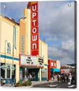 The Marching Band At The Uptown Theater In Napa California . 7d8922 Acrylic Print by Wingsdomain Art and Photography