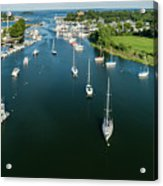 The Marina In Mamaroneck Acrylic Print