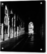 The Market Hall Acrylic Print