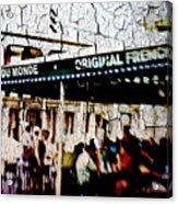 The Market Acrylic Print
