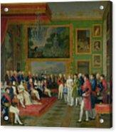 The Marriage Of Eugene De Beauharnais Acrylic Print by Francois Guillaume Menageot