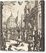 The Martyrdom Of Saint James Major Acrylic Print