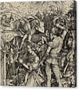 The Martyrdom Of St. Catherine Of Alexandria Acrylic Print