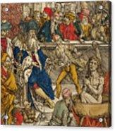 The Martyrdom Of St John Acrylic Print