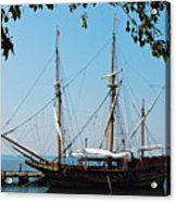 The Maryland Dove Ship Acrylic Print