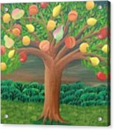 The Marzipan Tree Acrylic Print