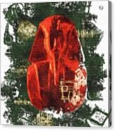 The Mask Of Tutankhamun Acrylic Print