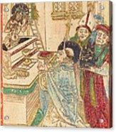 The Mass Of Saint Gregory Acrylic Print
