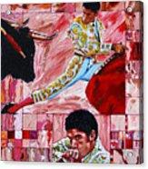The Matador Acrylic Print