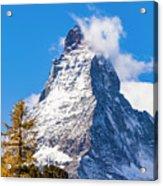 The Matterhorn Mountain Acrylic Print