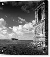 The Mausoleum At Downhill Demense Acrylic Print
