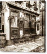 The Mayflower Pub London Vintage Acrylic Print