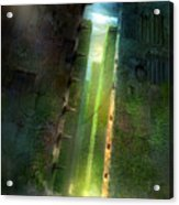 The Maze Runner Acrylic Print by Philip Straub