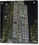 The Mcgraw Hill Building Acrylic Print
