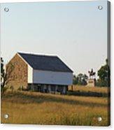 The Mcpherson Barn Acrylic Print