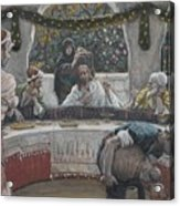 The Meal In The House Of The Pharisee Acrylic Print